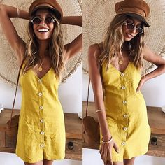 WEBSTA @mura_boutique Don't worry I'm coming back soon! Our Irreplaceable Girl Dress on the beautiful @dominiquelissa ☀️