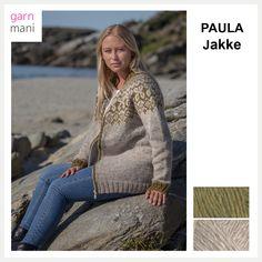 df221453 PAULA Jakke - Garnmani.no - Spesialist på islandsk garn