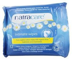 Natracare - Organic Cotton Intimate Wipes - 12 Wipe(s)