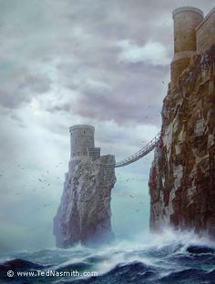 """Pyke (from GRRM's """"A Song of Ice and Fire""""), by Ted Nasmith"""