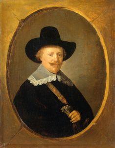 Gerrit Dou - Portret van een man (1640, Эрмитаж)