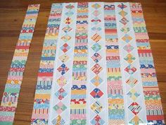 Great patternWhat a great scrap quilt pattern! This is a great pattern if you need to figure out how to use up fabric scraps. Full Post:Long weekend of sewing