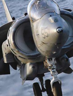 Hawker Siddeley Harrier Jump Jet - take off