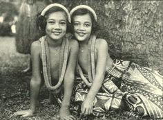 Keiki hula, 1935.