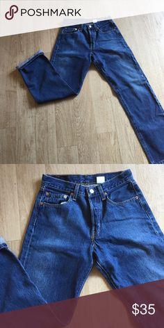 Levi's 501's Levi's 501's - excellent condition!! 26/28     #7 Levi's Jeans Straight Leg
