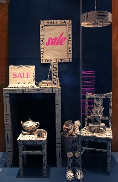 Sale Window Display By Visual Merchandising Students Katia Peroni And Lucy Spry RMIT