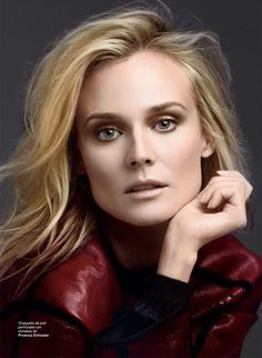 SModaDianeKruger2 | Fashion Gone Rogue: www.fashiongonerogue.com For the April 2013 edition of S Moda, the talented fashion model turned actress Diane Kruger poses for photographer David Roemer (Atelier Management). Styled by Christopher Campbell (Atelier Management), Hair by Mara Roszack, Makeup by Matthew Van Leeuwen, Manicure by Christina Aviles