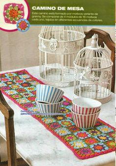 Todo crochet: Camino de mesa