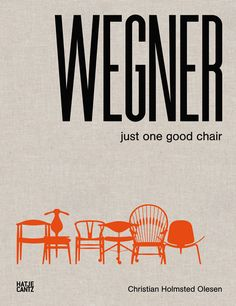 Hans J. Wegner book. Graphic design by Koch Studio CPH. http://www.rasmuskoch.com/