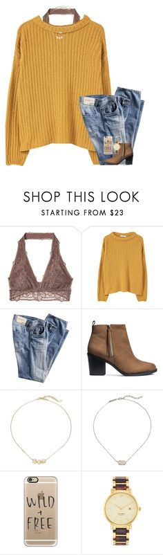 """Fall"" by cfc-28-sc ❤ liked on Polyvore featuring MANGO, H&M, Cole Haan, Kendra Scott, Casetify and Kate Spade"
