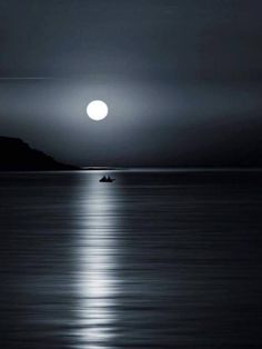 """When you see the moon straight before you it signifies you will have good luck to the end of the season. """"Serenity by VMor """" Beautiful Moon, Beautiful World, Cool Photos, Beautiful Pictures, Shoot The Moon, Moon Pictures, Moon Art, Blue Moon, Night Skies"""