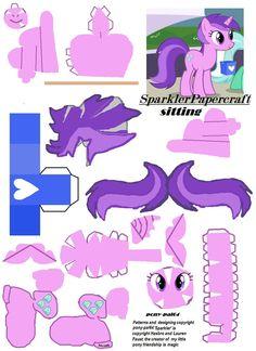 Sparkler Papercraft by pony-pal64