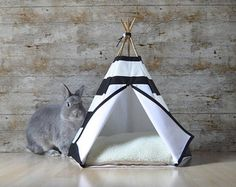 This cat & dog teepee entirely handcrafted by me makes the delight of pets and their owners. Indeed, it transforms your cat or your small dog into a veritable little four-legged Apache. In this tent, they can sleep comfortably thanks to a soft cushion perfectly adapted to the size of the tepee or play hide-and-seek. At the same time, it doesnt denature your interior decoration but, on the contrary, brings to it a trendy, refined and original style. Very handy and lightweight, you can furl it…