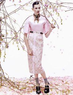 Bette Franke by Sharif Hamza, Vogue Japan August 2013
