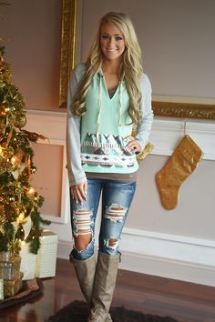 Dare to Bling in Mint – The Pulse Boutique