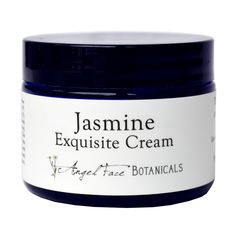 Jasmine Exquisite Facial Cream with Rosewater & Sandalwood - Angel Face Botanicals Web Store