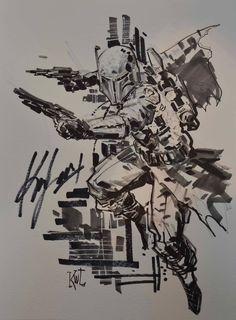 Star Wars - Boba Fett by Ken Lashley *