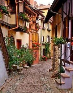 Altstadt Freiburg Breisgau, Germany
