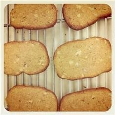 Walnuts and cinnamon flavor this refrigerator cookie ready to bake when you are.
