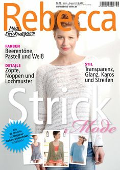 Rebecca 58  Stricken mit Rebecca - Heft 58