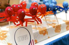 CupKate's Event Design: Under the Sea Birthday Bash!