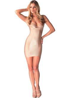 cb25c387d7 bh1502L Glamour Lace Slenderizing Shaping Slip by Body Hush available at  nowthatslingerie.com  ShopNTL