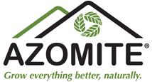 Azomite - natural mineral additive to restore nutrients to soil.  Approved for organic production.
