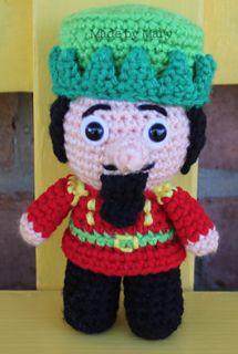 Ravelry: Nutcracker Christmas Mini pattern by Mary Smith