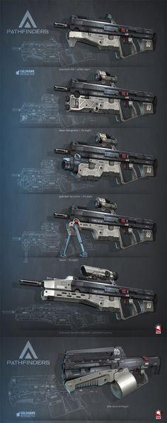Pathfinder - Guns by Kris Thaler