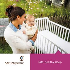 We love Naturepedic's dedication to creating high-quality organic infant & child mattresses.