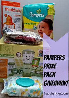 Enter to win a Pampers prize pack! Ends 7/10. #BetterForBaby
