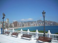 benidorm old town spain - Google Search