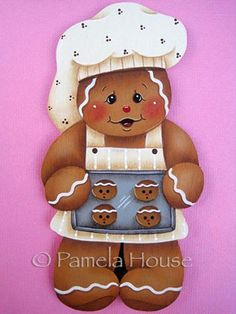dce8047d0ad9e The Decorative Painting Store  Gingerbread Cookie Baker