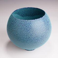 """Bowl by Mary Fox- 8 1/4"""" T x 9"""" W"""