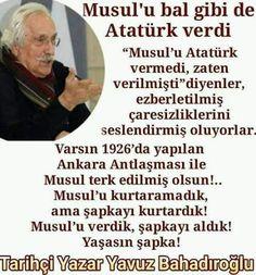 Orada bir iş var. Atatürk isteyerek vermez orayı.