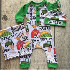 Name romper farm theme going home outfit baby boy outfit personalized baby gift baby shower gif Baby Boy Names Strong, Cute Baby Names, Going Home Outfit, Take Home Outfit, Homecoming Outfits, Baby Boy Themes, Newborn Boy Clothes, Farm Theme, Baby Gown