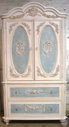 An Antique Country Pine Two Door Painted Armoire, The Paintedu2026   Wardrobes    Furniture   Carteru0027s Price Guide To Antiques And Collectables | Pinterest  ...