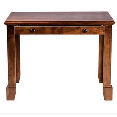 "Forest Designs Shaker 60"" W Drawer Writing Desk Finish:"