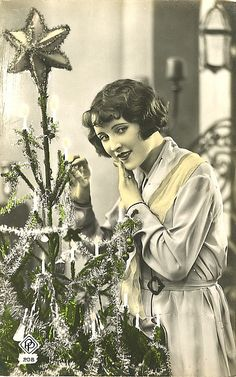 An old timey Christmas.
