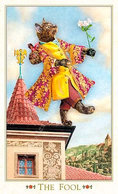 The Fool The Baroque Bohemian Cats' Tarot Publisher: Magic Realist Press 2004