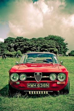 My first car was an Alfa Romeo GTV6, this is its grandpa