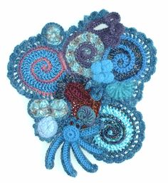 Aventures Textiles: Freeform crochet