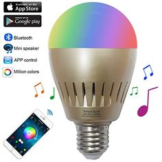 Portable Speakers Dutiful 14w Rgb Led Bluetooth Speaker Bulb Intelligent Stage Music Bulb Bluetooth Speaker Lamp High Quality And Inexpensive Consumer Electronics