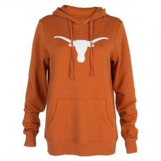 Ncaa Texas Longhorns Womens Hoodies, Women's, Size: Medium, Orange