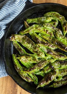 Shishito peppers with soy ginger sauce recipe pinterest pepper recipes cooking channel how to roast shishito peppers forumfinder Gallery