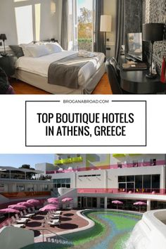 Top Boutique Hotels in Athens Greece.