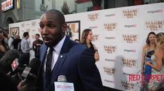@official_tWitch Talks Getting on Your Ab Game at the Premiere of Magic Mike XXL Red Carpet #MagicMikeXXL #ComeAgain