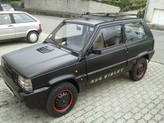 Fiat Panda, Fiat Cars, Teardrop Trailer, Pedal Cars, 4x4, Offroad, Cars And Motorcycles, Vehicle, Automobile
