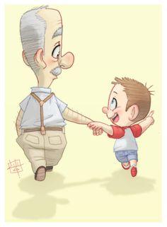 This Way This Way Grandpa by *LuigiL on deviantART