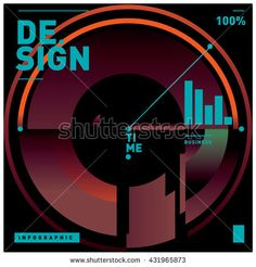 Vector Illustration Modern colorful background material design - stock vector